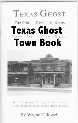 Texas Ghost Town Book